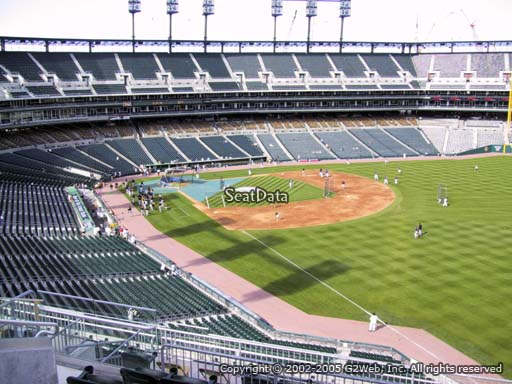 Seat view from section 212 at Comerica Park, home of the Detroit Tigers
