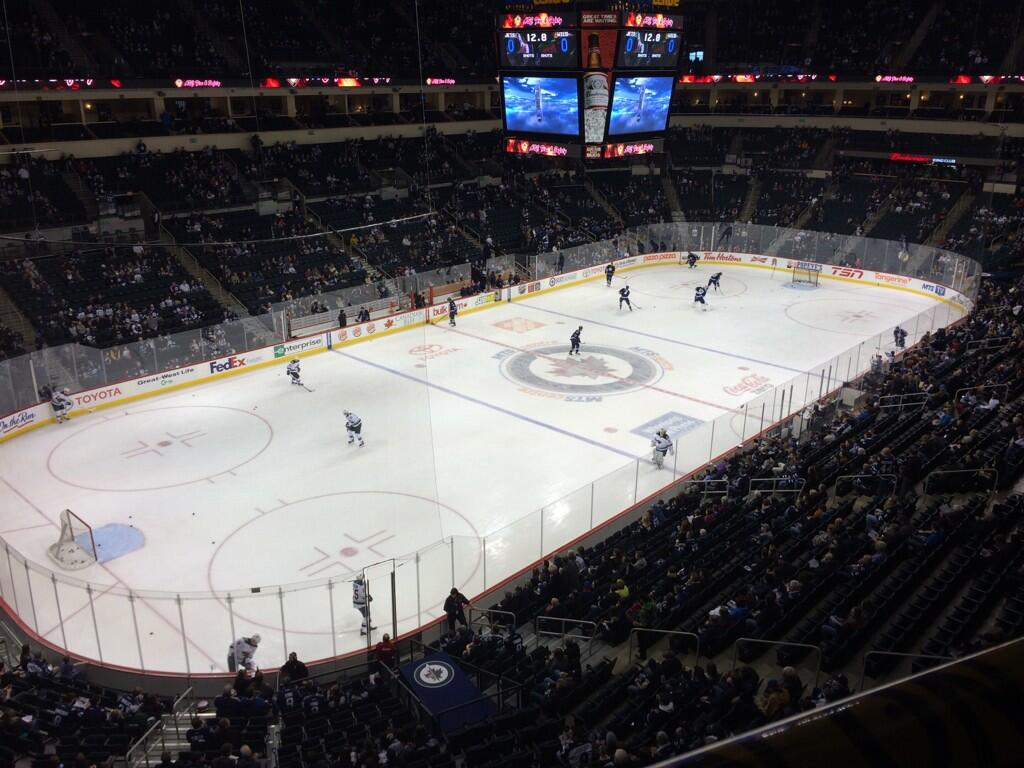 Seat view from section 309 at Bell MTS Place, home of the Winnipeg Jets