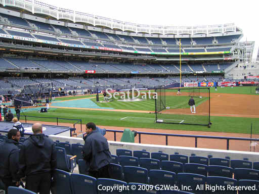 Seat view from section 15A at Yankee Stadium, home of the New York Yankees