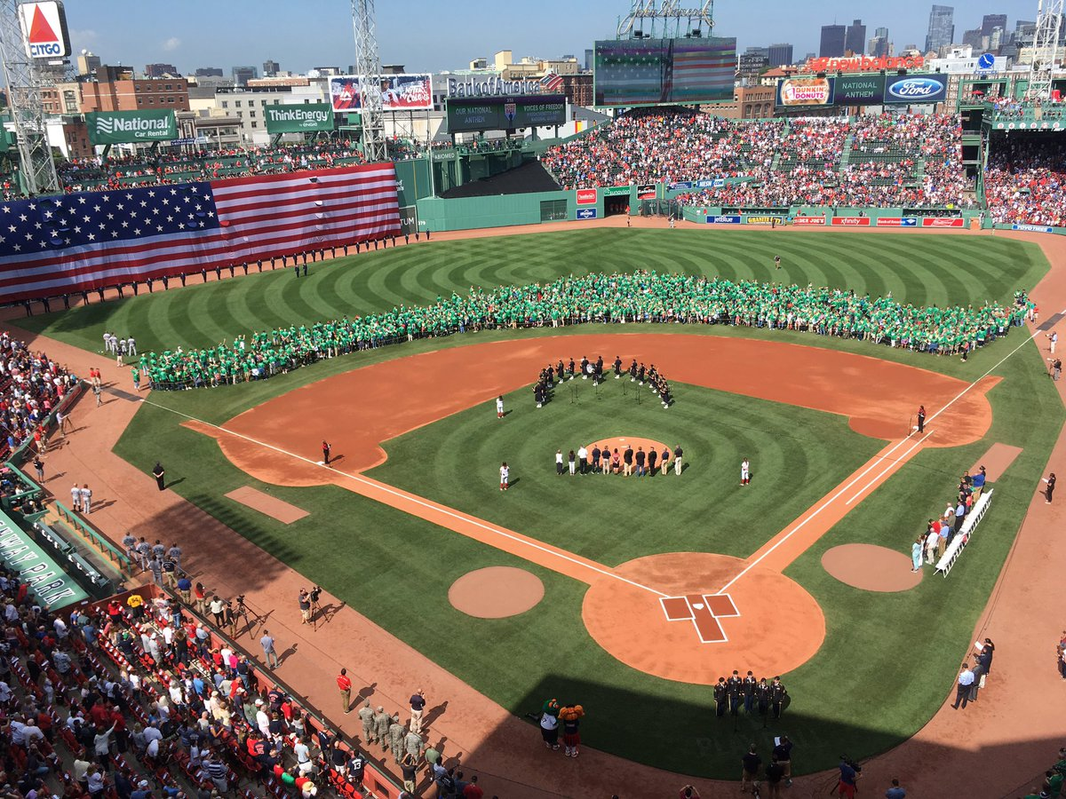 Vietnam Veterans Ceremony - Fenway Park, Home of the Boston Red Sox