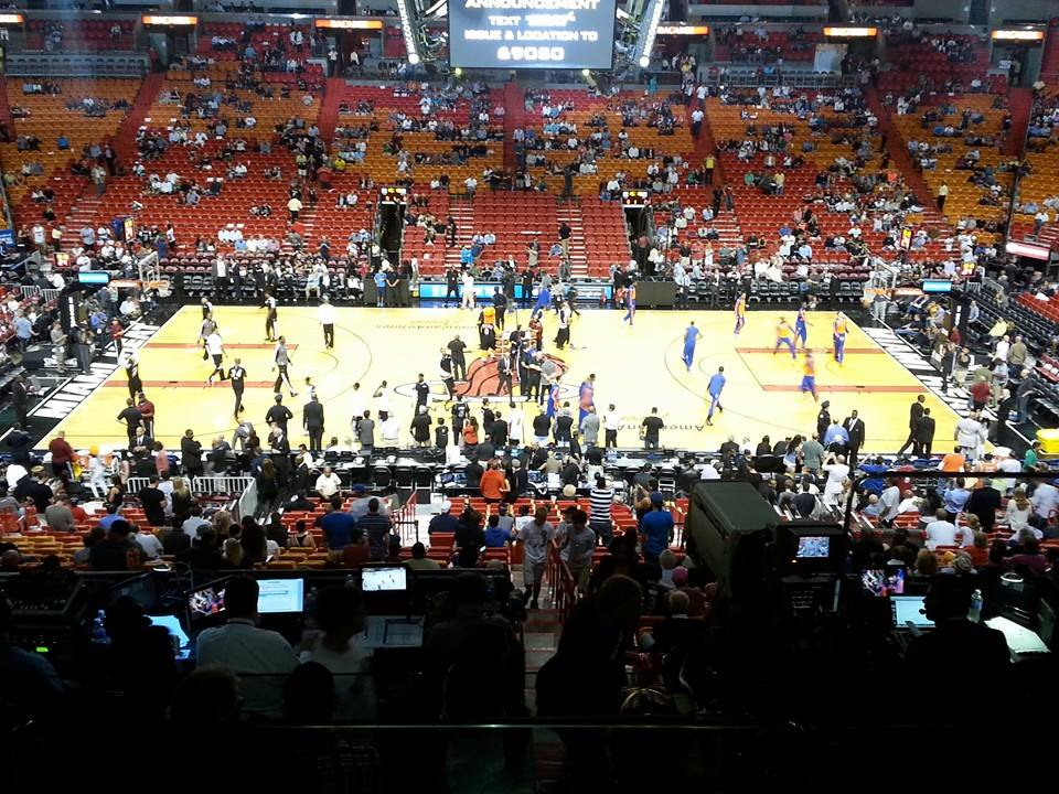 breakdown of the american airlines arena seating chart