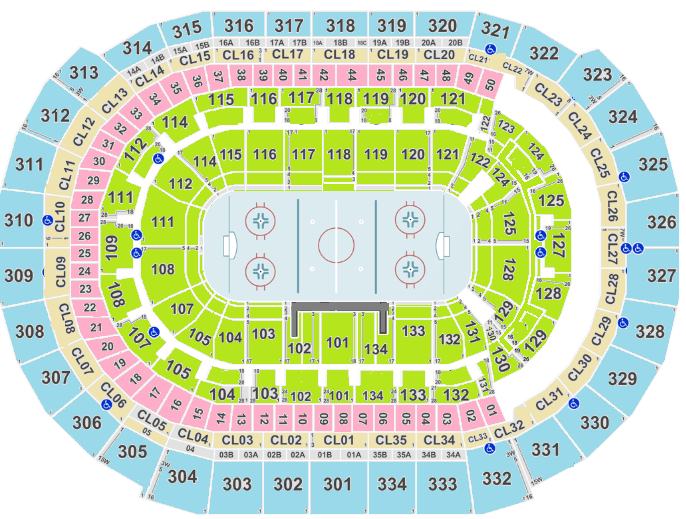 BB&T Center Seating Chart, Florida Panthers