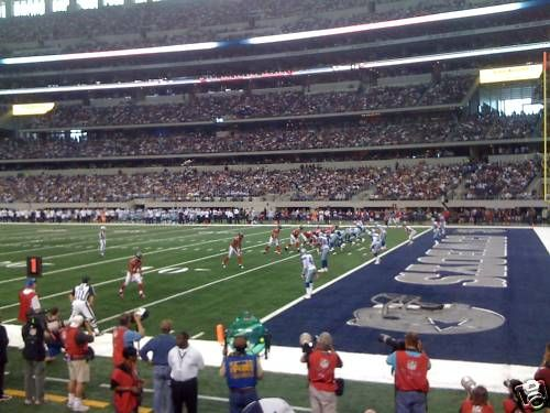 Seat view from section 128 at AT&T Stadium, home of the Dallas Cowboys
