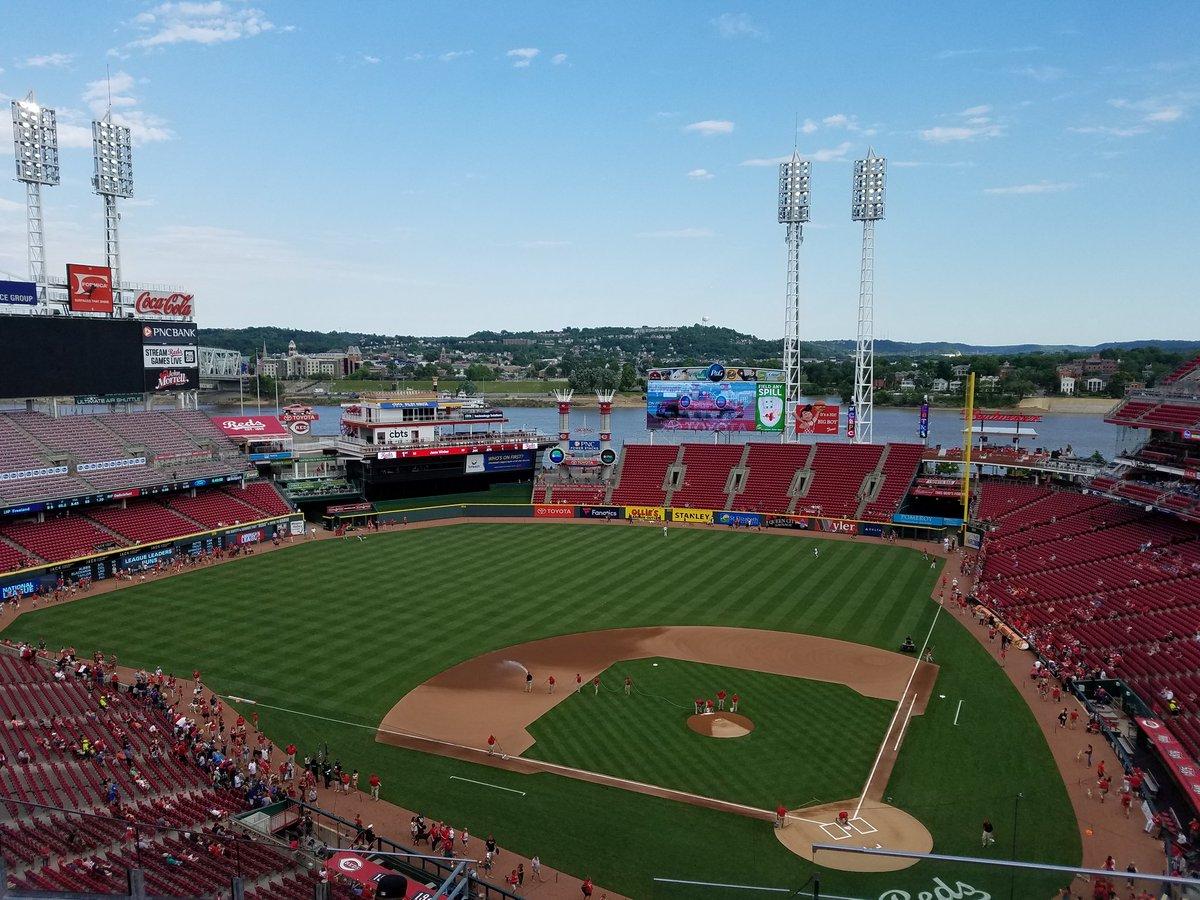 Breakdown Of The Great American Ball Park Seating Chart Cincinnati Reds