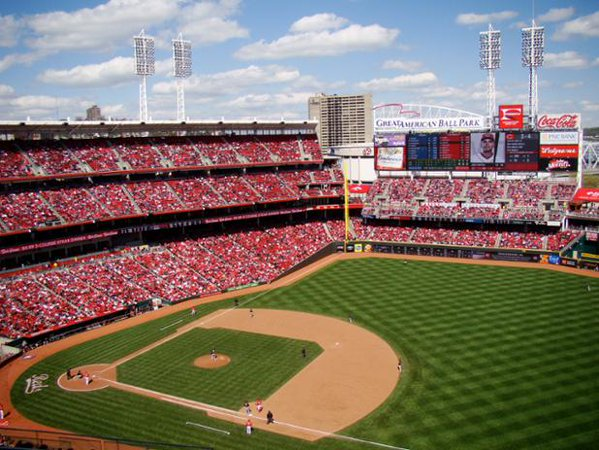 Breakdown Of The Great American Ball Park Seating Chart