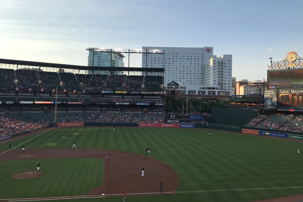 Breakdown Of The Camden Yards Seating Chart Baltimore