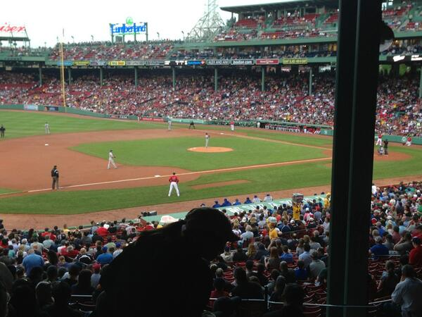 What Are The Worst Seats At Fenway Park From This Seat