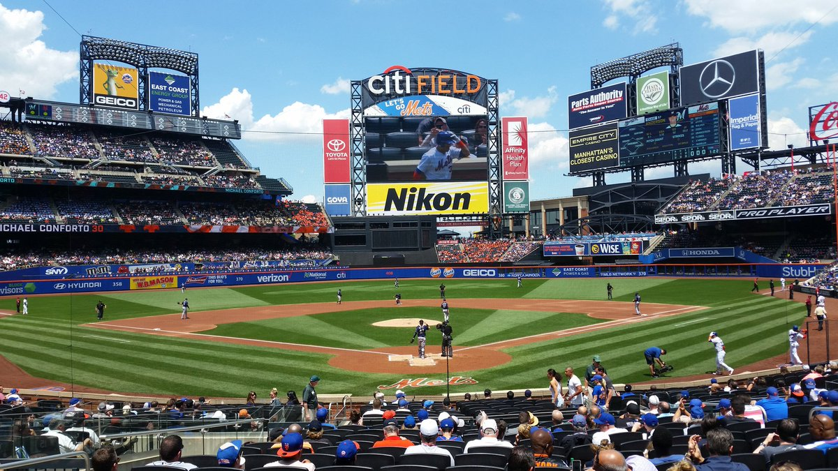 Citi Field Seating Chart Views And Reviews New York Mets