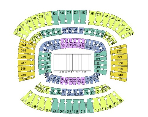 FirstEnergy Stadium Seating Chart, Cleveland Browns