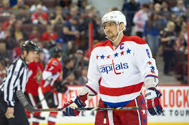Washington Capitals White Alternate Jersey