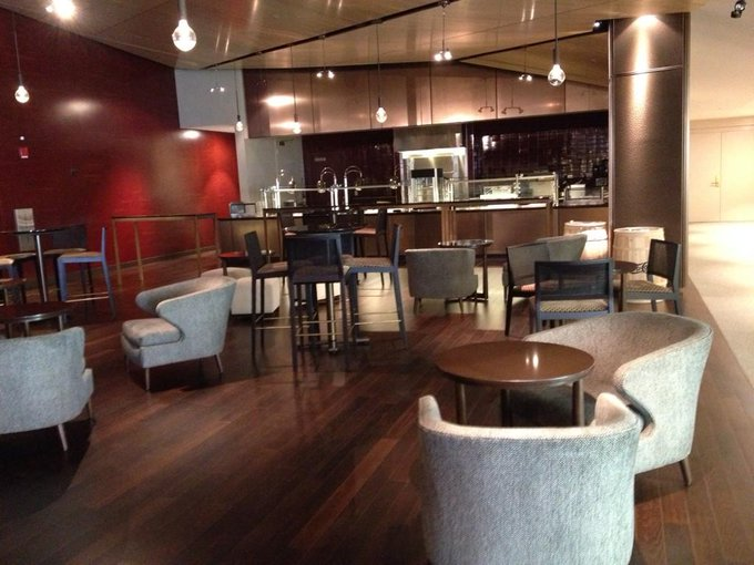 Interior photo of the BNY Mellon Club at Levi's Stadium, home of the San Francisco 49ers.