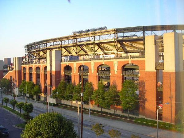 Exterior photo of Turner Field. Former home of the Atlanta Braves.