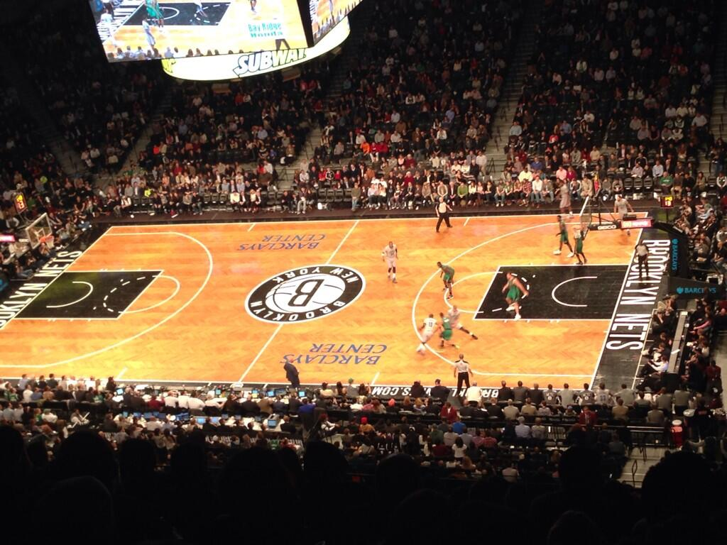 Seat view from Section 206 at the Barclays Center, home of the Brooklyn Nets