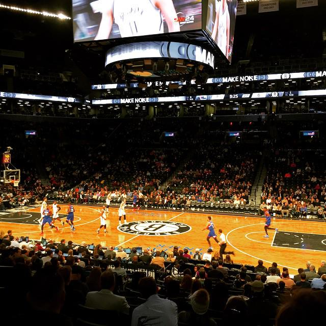 Seat view from Section 7 at the Barclays Center, home of the Brooklyn Nets