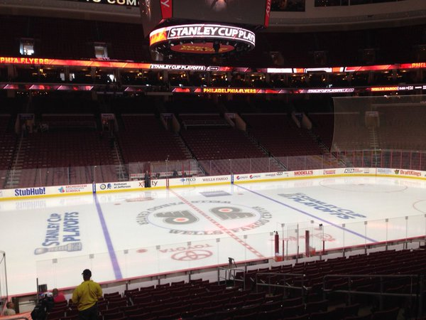 Wells Fargo Center, Home of the Philadelphia Flyers