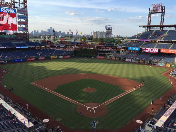 Citizens Bank Park Seating Chart Views Reviews Philadelphia
