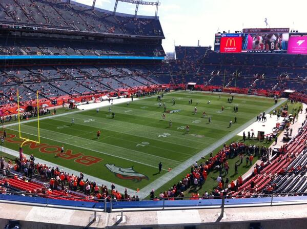 Mile High Stadium Seating Chart Views And Reviews Denver Broncos