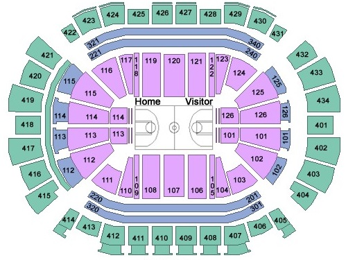 Toyota Center Seating Chart, Houston Rockets
