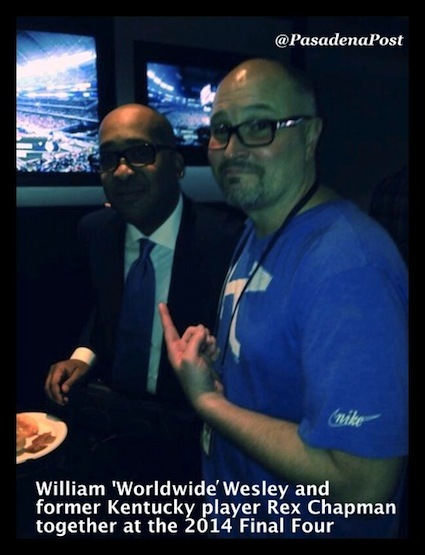 "William ""WorldWide Wes"" Wesley with Rex Chapman"