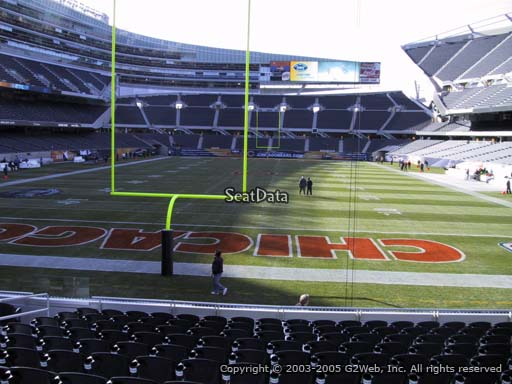 Seat view from section 151 at Soldier Field, home of the Chicago Bears