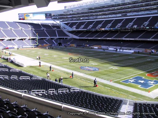 Seat view from section 230 at Soldier Field, home of the Chicago Bears