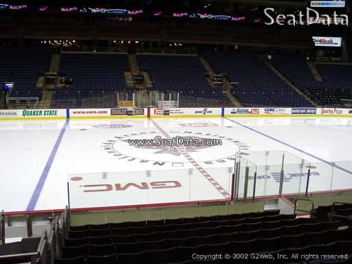 Seat View from Section 104 at Nationwide Arena | Columbus ...