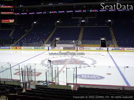 Seat view from section 114 at Nationwide Arena, home of the Columbus Blue Jackets