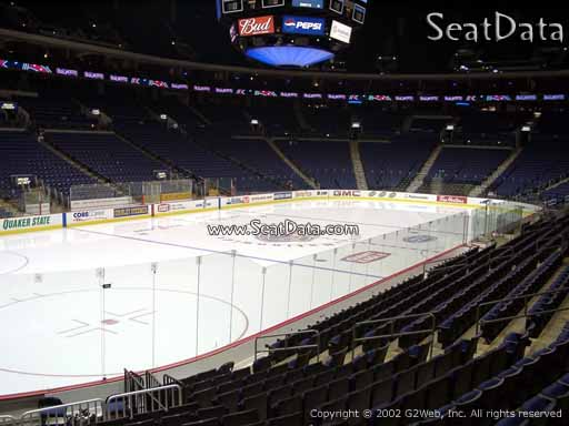 Seat view from section 117 at Nationwide Arena, home of the Columbus Blue Jackets