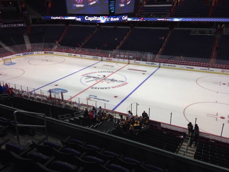 Seat view from section 202 at Capital One Arena, home of the Washington Capitals