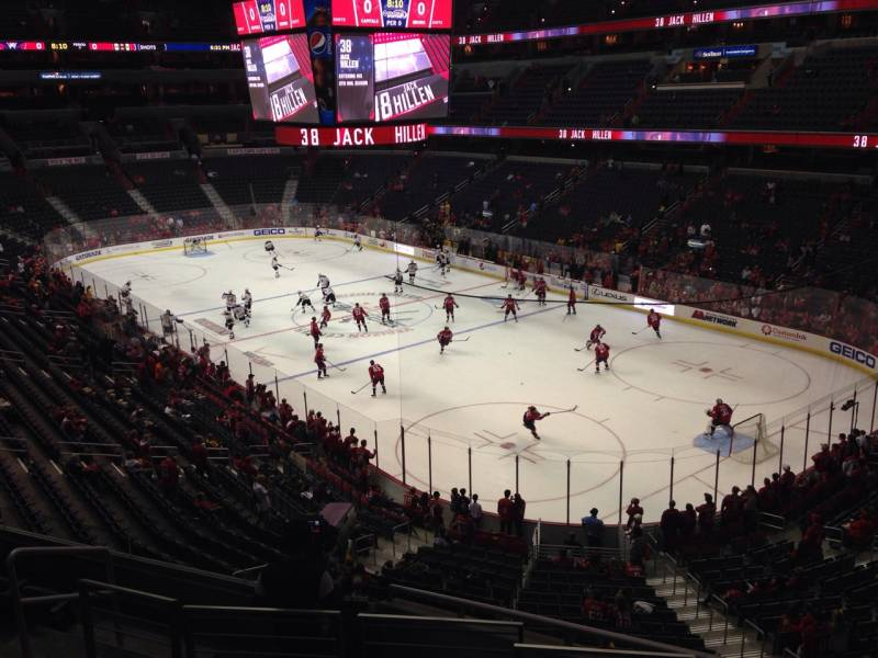 Seat view from section 220 at Capital One Arena, home of the Washington Capitals