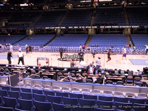 Seat view from section 126 at Rocket Mortgage FieldHouse, home of the Cleveland Cavaliers
