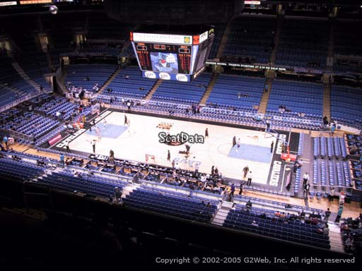 Seat view from section 227 at Rocket Mortgage FieldHouse, home of the Cleveland Cavaliers
