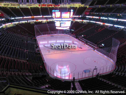 Seat view from section 101 at the Prudential Center, home of the New Jersey Devils