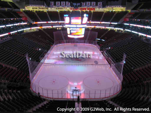 Seat view from section 103 at the Prudential Center, home of the New Jersey Devils