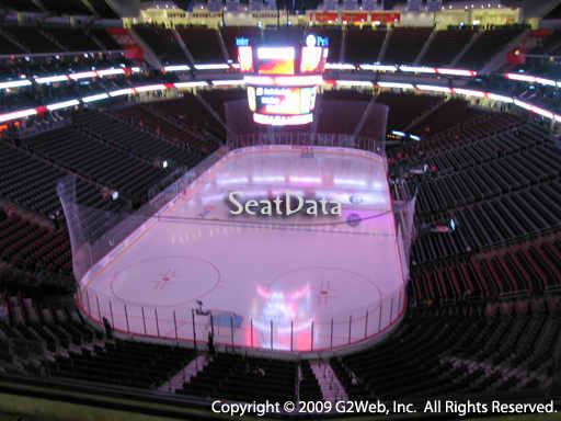 Seat view from section 104 at the Prudential Center, home of the New Jersey Devils