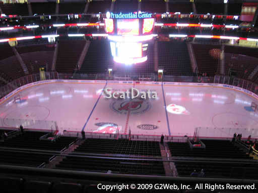Seat view from section 112 at the Prudential Center, home of the New Jersey Devils