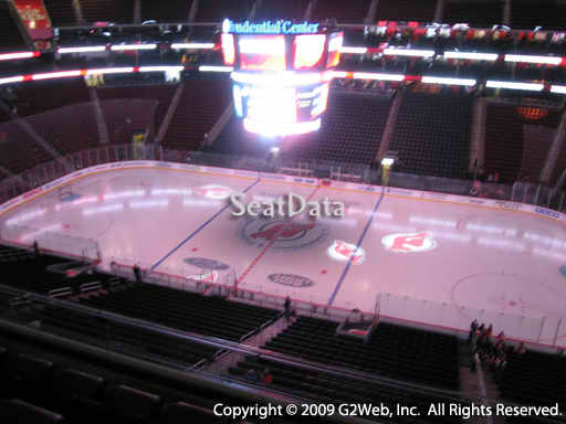 Seat view from section 113 at the Prudential Center, home of the New Jersey Devils