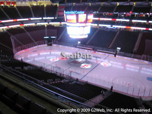 Seat view from section 131 at the Prudential Center, home of the New Jersey Devils