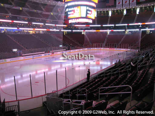 Seat view from section 16 at the Prudential Center, home of the New Jersey Devils