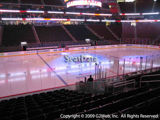Seat view from section 18 at the Prudential Center, home of the New Jersey Devils