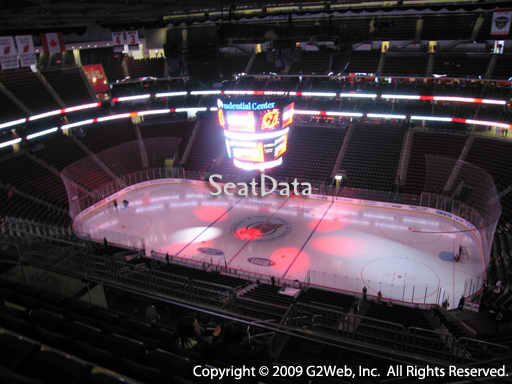 Seat view from section 214 at the Prudential Center, home of the New Jersey Devils