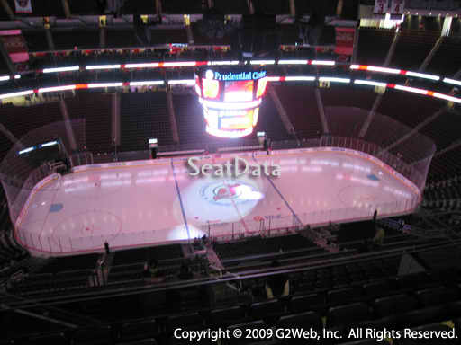 Seat view from section 228 at the Prudential Center, home of the New Jersey Devils
