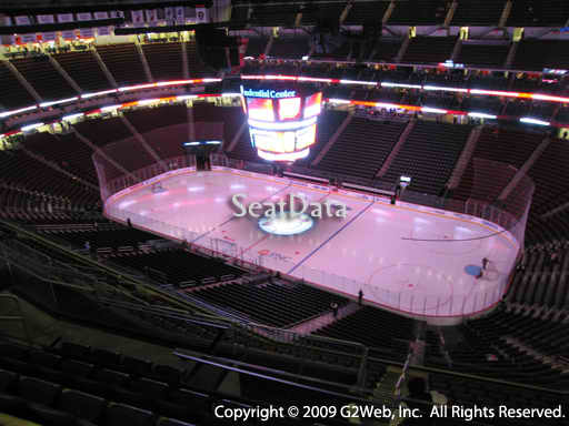 Seat view from section 232 at the Prudential Center, home of the New Jersey Devils