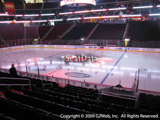 Seat view from section 9 at the Prudential Center, home of the New Jersey Devils