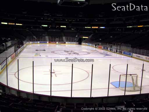 Seat view from section 216 at the Honda Center, home of the Anaheim Ducks