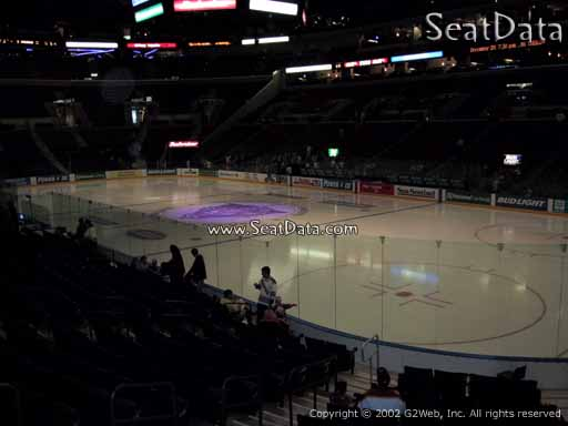 Seat view from section 114 at the BB&T Center, home of the Florida Panthers