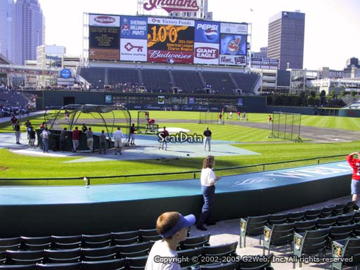 Seat view from section 150 at Progressive Field, home of the Cleveland Indians