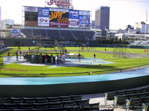 Seat view from section 151 at Progressive Field, home of the Cleveland Indians