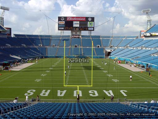 Seat view from section 148 at TIAA Bank Field, home of the Jacksonville Jaguars