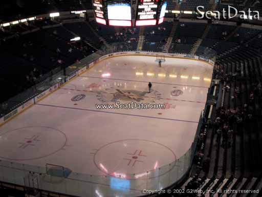 Seat view from section 207 at Amalie Arena, home of the Tampa Bay Lightning